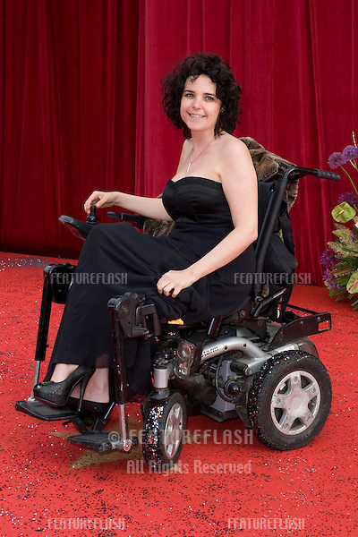 Cherrylee Houston arrives for the 2011 Soap Awards held at Granada Studios in Manchester. 14/05/2011. Picture by Simon Burchell/Featureflash