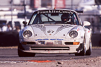 Porsche 993 of  Price Cobb, Danny Marshall, Peter Chambers, Ulrich Gallade, and Martyn Konig, 18th place,  24 Hours of Daytona, Daytona International Speedway, Daytona Beach, FL,  February 1998.  (Photo by Brian Cleary/bcpix.com)