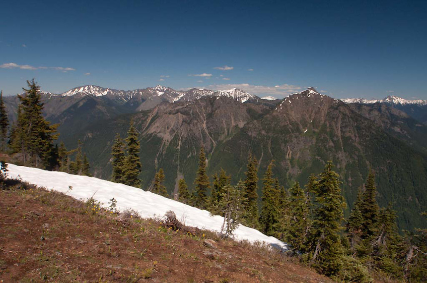 Desolation Peak View, North Cascades National Park, Washington, US
