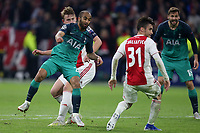 Lucas of Tottenham Hotspur scores the third and winning goal during AFC Ajax vs Tottenham Hotspur, UEFA Champions League Football at the Johan Cruyff Arena on 8th May 2019