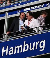 07.04.2018, Football 1. Bundesliga 2017/2018, 29.  match day, Hamburger SV - FC Schalke 04, Volksparkstadium Hamburg. , Aufsichtsratsvorsitzende HSV Football AG and president des HSV e.V. Bernd Hoffmann (Hamburg)  *** Local Caption *** © pixathlon<br /> <br /> Contact: +49-40-22 63 02 60 , info@pixathlon.de