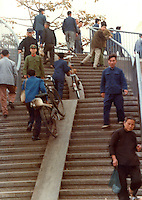 Pictures taken in Canton China in 1977 at the time of the cultural revolution.