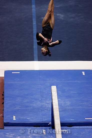 kristina baskett. NCAA Women's Gymnastics Championships at the Huntsman Center