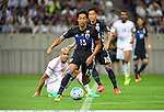 Ismail Ahmed (UAE), Hiroshi Kiyotake (JPN),<br /> SEPTEMBER 1, 2016 - Football / Soccer :<br /> FIFA World Cup Russia 2018 Asian Qualifiers Final Round Group B match between Japan 1-2 United Arab Emirates at Saitama Stadium 2002 in Saitama, Japan. (Photo by Takamoto Tokuhara/AFLO)