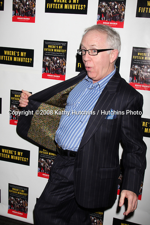 """Leslie Jordan.Howard Bragman's Book Party for """"Where's My Fifteen Minutes"""" at the Chateau Marmont Hotel in West Los Angeles, CA on .January 14, 2009.©2008 Kathy Hutchins / Hutchins Photo..                ."""