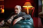 29.10.2015, Berlin Hotel Savoy. Holocaust Survivor Walter Frankenstein (Photo by Gregor Zielke)