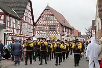Musikzug Stockstadt - Büttelborn 11.02.2018: Rosensonntagsumzug der BCA