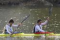 (L to R) Koki Miura, Kazuki Otsuki, .MARCH 28, 2012 - Canoeing : .2012 International Canoeing Competitions Selection Trial & The 22th Fuchuko Canoe Regatta, .Men's Junior Kayak Double 200m at Lake Fuchu, Kagawa Japan. (Photo by Akihiro Sugimoto/AFLO SPORT) [1080]