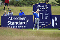 Richard McEvoy (ENG) on the 11th during Round 2 of the Aberdeen Standard Investments Scottish Open 2019 at The Renaissance Club, North Berwick, Scotland on Friday 12th July 2019.<br /> Picture:  Thos Caffrey / Golffile<br /> <br /> All photos usage must carry mandatory copyright credit (© Golffile | Thos Caffrey)
