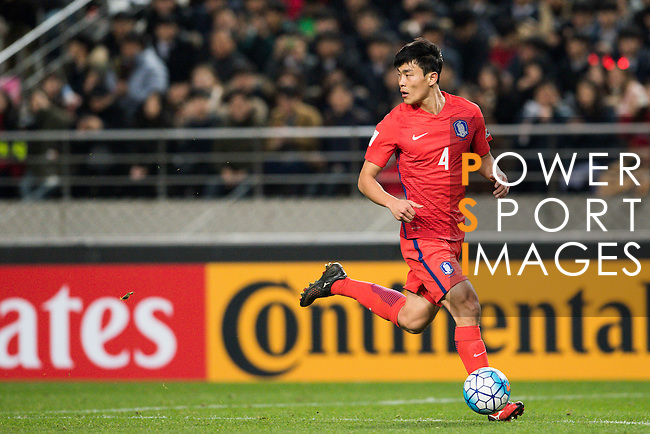 Korea Republic vs Uzbekistan during their 2018 FIFA World Cup Russia Asian Qualifiers Final Qualification Round Group A match at the Seoul World Cup Stadium on 15 November 2016 in Seoul, South Korea. Photo by Victor Fraile / Power Sport Images