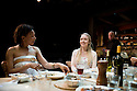 Apologia by Alexi Kaye Campbell,directed by Josie O'Rourke.With Nina Sosanya as Claire,Sarah Goldberg as Trudi.Opens at The Bush Theatre on 22/6/09.  Credit Geraint Lewis