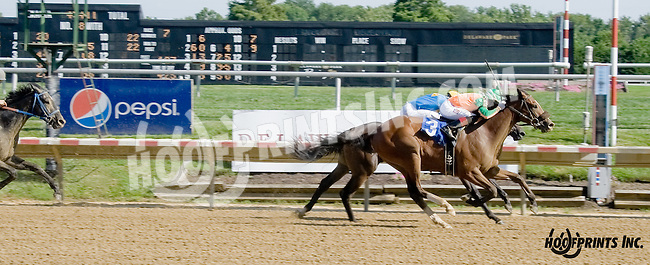 Nolans Dream winning at Delaware Park on 8/16/14