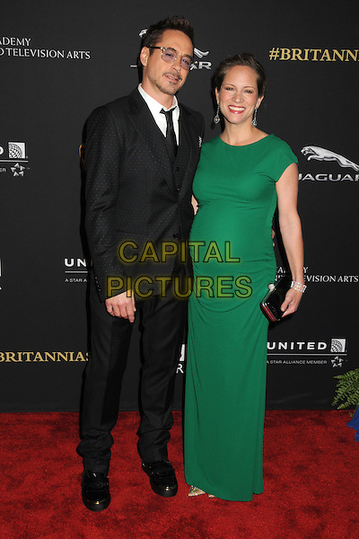 30 October 2014 - Beverly Hills, California - Robert Downey Jr., Susan Downey. BAFTA Britannia Awards 2014 held at the Beverly Hilton Hotel.  <br /> CAP/ADM/BP<br /> &copy;Byron Purvis/AdMedia/Capital Pictures