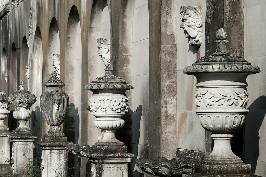 Italian urns.