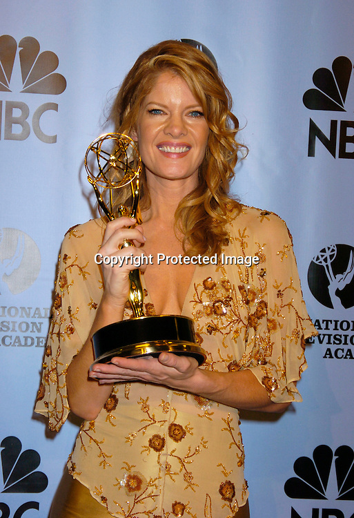 Michelle Stafford ..at the Daytime Emmy Awards on May 21, 2004 in the Press Room at Radio City Music Hall...Photo by Robin Platzer, Twin Images