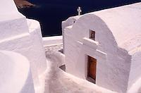 Greece Astypalaia A church in Hora