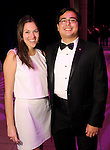 Alissa Frank and Bat Taniguchi at the Big Bang Ball at the Houston Museum of Natural Science Saturday March  04,2017. (Dave Rossman Photo)