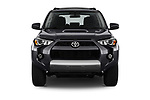 Car photography straight front view of a 2018 Toyota 4Runner Off-Road 5 Door SUV