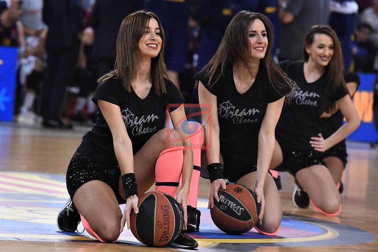 Turkish Airlines Euroleague 2018/2019. <br /> Regular Season-Round 16.<br /> FC Barcelona Lassa vs Darussafaka Tekfen Istanbul: 97-65.<br /> Dream Cheers.