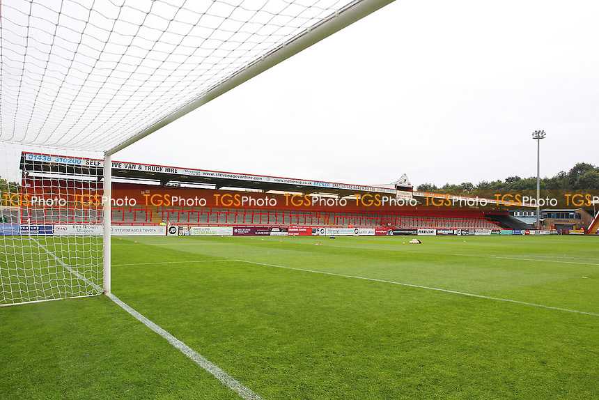 General view of the ground during Stevenage vs Hartlepool United, Sky Bet EFL League 2 Football at the Lamex Stadium on 3rd September 2016