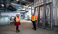 Lambton College construction project media tour