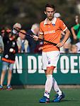 BLOEMENDAAL  - Yannick van der Drift (Bldaal)  Hoofdklasse competitie heren, Bloemendaal-HGC (7-2). COPYRIGHT KOEN SUYK
