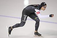 SCHAATSEN: CALGARY: Olympic Oval, 08-11-2013, Essent ISU World Cup, 1500m, Denny Morrison (CAN), ©foto Martin de Jong