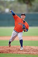GCL Astros pitcher Chad Donato (51) during a game against the GCL Marlins on July 22, 2017 at Roger Dean Stadium Complex in Jupiter, Florida.  GCL Astros defeated the GCL Marlins 5-1, the game was called in the seventh inning due to rain.  (Mike Janes/Four Seam Images)