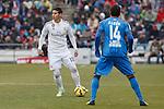 Real Madrid´s James Rodriguez  during La Liga match at Coliseum Alfonso Perez stadium  in Getafe, Spain. January 18, 2015. (ALTERPHOTOS/Victor Blanco)