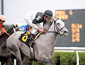 Nedjma wins the sixth race at Saratoga on Aug. 26, 2009 for trainer Mike Hushion.