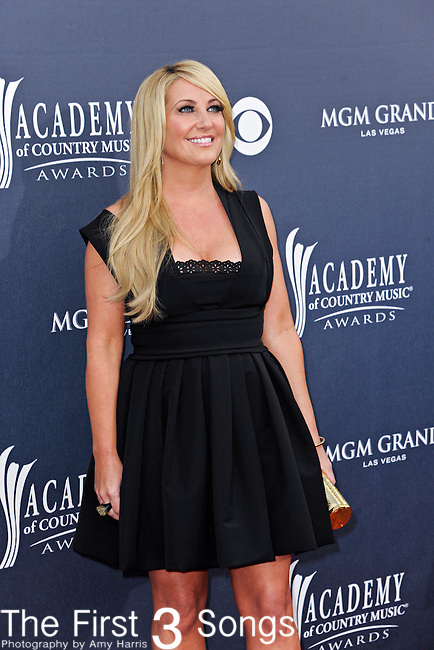 Lee Ann Womack attends the 46th Annual Academy of Country Music Awards in Las Vegas, Nevada on April 3, 2011.