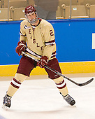 Brian Dumoulin (BC - 2) - The Boston College Eagles defeated the Air Force Academy Falcons 2-0 in their NCAA Northeast Regional semi-final matchup on Saturday, March 24, 2012, at the DCU Center in Worcester, Massachusetts.