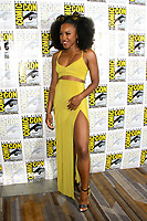 SAN DIEGO - July 22:  Asha Bromfield at Comic-Con Saturday 2017 at the Comic-Con International Convention on July 22, 2017 in San Diego, CA