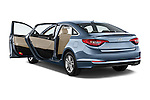 Car images of 2017 Hyundai Sonata Eco 4 Door Sedan Doors