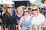 Geraldine Fleming, Anna rahilly, Susan Murhill and Marie Lynch at  Bikefest in Killarney on Sunday