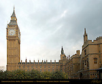 Elizabeth Clock Tower, Big Ben, Houses of Parliament, Westminster Palace, London, England, UK