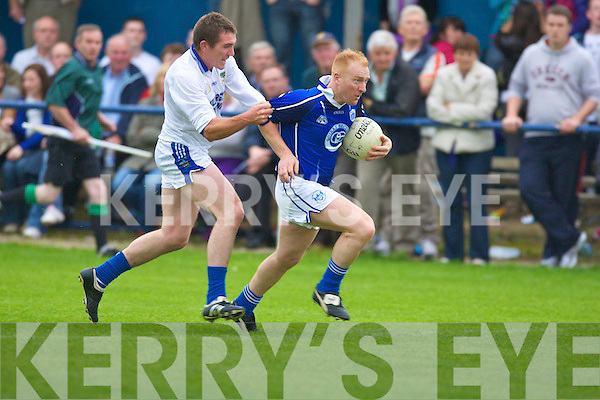 Laune Rangers v Kerins O'Rahillys in the AIB Club Championship at Strand Road, Tralee on Sunday.