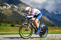 Picture by Alex Whitehead/SWpix.com - 25/09/2018 - Cycling - UCI 2018 Road World Championships - Innsbruck-Tirol, Austria - Junior Men's Individual Time Trial - Ben Tulett of Great Britain.