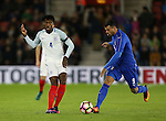 England's Nathaniel Cholabah in action during the Under 21 International Friendly match at the St Mary's Stadium, Southampton. Picture date November 10th, 2016 Pic David Klein/Sportimage