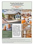 Picacho Peak RV Resort Model Homes Flyers