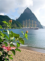 IT-St. Lucia, Royal Clipper
