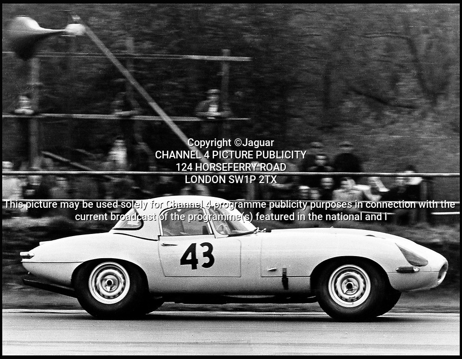 BNPS.co.uk (01202 558833)Pic: Jaguar/BNPS<br /> <br /> An original 1963 Silverstone Lightweight E-type Jaguar.<br /> This sexy supercar is getting petrolheads all revved up but buyers willing to fork out the £1.5 million asking price will need their own racing track to use it - because it can't be driven on the road.<br /> <br /> The iconic Jaguar E-Type is the first of the rare lightweight racing model to come out of the legendary Coventry firm's stable in more than 50 years.<br /> <br /> Six limited edition motors have been painstakingly rebuilt to the original design that hero racing drivers like Graham Hill and Jackie Stewart raced to glory in the sixties.<br /> <br /> But because they have been made to 1963 specifications they do not comply to today's strict safety laws and are therefore not road legal.