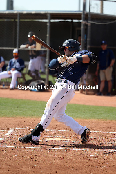 Ty France - San Diego Padres 2016 spring training (Bill Mitchell)