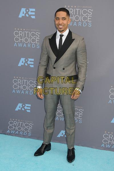 17 January 2016 - Santa Monica, California - Neil Brown Jr.. 21st Annual Critics' Choice Awards - Arrivals held at Barker Hangar. <br /> CAP/ADM/BP<br /> &copy;BP/ADM/Capital Pictures