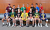 The Newsday All-Long Island boys lacrosse team poses for a group photo at company headquarters on Thursday, June 16, 2016. FRONT ROW, FROM LEFT: Joe Tierney of Bethpage, Zach Barrett of Lynbrook, Mac O'Keefe of Syosset, Ryan Tierney of Massapequa, Lucas Cotler of Syosset, John Day of Ward Melville and Chris Gray of Shoreham-Wading River. BACK ROW, FROM LEFT: Coach Steve Finnell of Garden City, Matt Licciardi of Cold Spring Harbor, Jared Nugent of St. Anthony's, Tommy McPartland of Farmingdale, Matt Gavin of Manhasset, Jacob Giacalone of Sachem North, Blake Carrara of Riverhead and Gerard Arceri of Smithtown East.