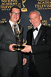 LOS ANGELES - APR 24: Michael Barrett, Dick Maitland at The 42nd Daytime Creative Arts Emmy Awards Gala at the Universal Hilton Hotel on April 24, 2015 in Los Angeles, California