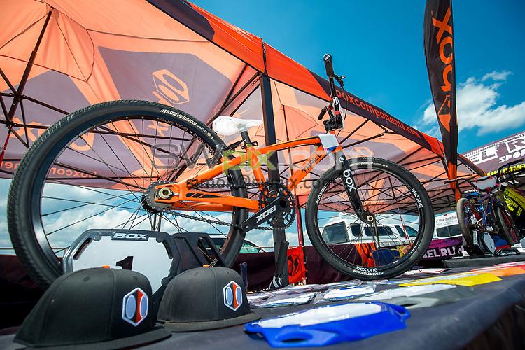 Picture by Alex Whitehead/SWpix.com - 29/07/2017 - Cycling - 2017 UCI BMX World Championships - Novant Health BMX Supercross Track, Rock Hill, USA - Brief. Box