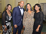 MIAMI, FL - MARCH 12: Garcelle Beauvais (2nd from R) attends the Haitian Lawyer Association 18th Annual Scholarship Gala while campaigning for Hillary Clinton at JW Marriott Miami on Saturday March 12, 2016 in Miami, Florida. ( Photo by Johnny Louis / jlnphotography.com )