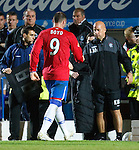 Kris Boyd subbed for Lee McCulloch