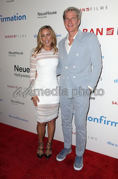 "15 March 2016 - Hollywood, California - Maria Bello, Matthew Modine. ""The Confirmation"" Los Angeles Premiere held at NeueHouse Hollywood. Photo Credit: Sammi/AdMedia"